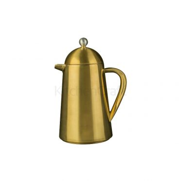 La Cafetiere Thermique 8 Cup Brushed Gold