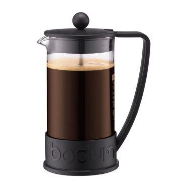 Brazil Coffee Presser - 8 Cups Black