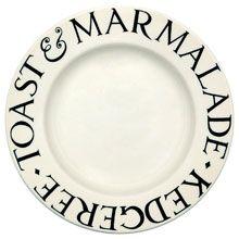 """Emma Bridgewater Black Toast 8.5"""" Plate"""