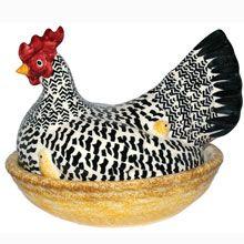 Emma Bridgewater Black Toast Large Hen