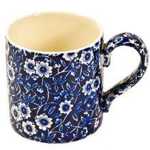 Burleigh Calico Blue Mug