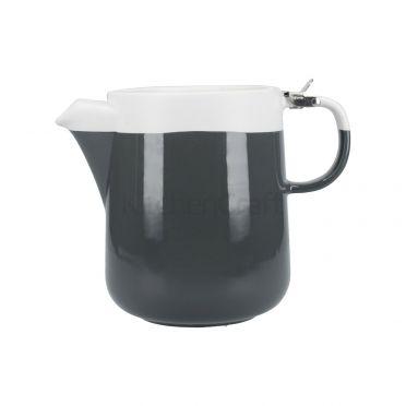 La Cafetiere Barcelona Teapot 1200ml - Cool Grey