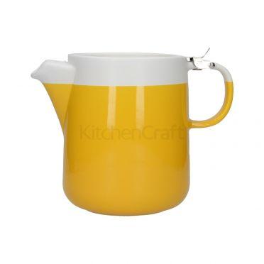 La Cafetiere Barcelona Teapot 1200ml - Mustard