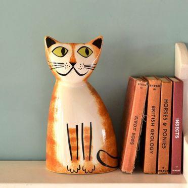 Hannah Turner Ginger Cat Money Box