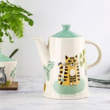 Hannah Turner Cat Teapot
