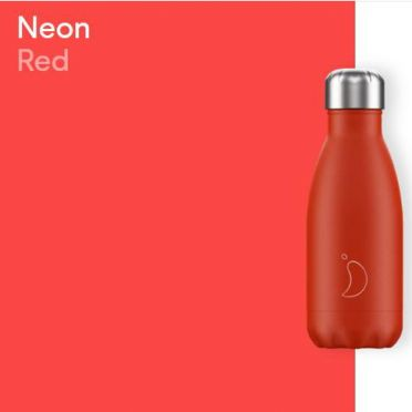 Chilly Bottle - Neon Red