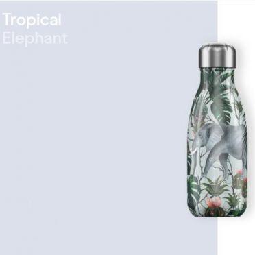 Chilly Bottle - Tropical Elphants 260ml