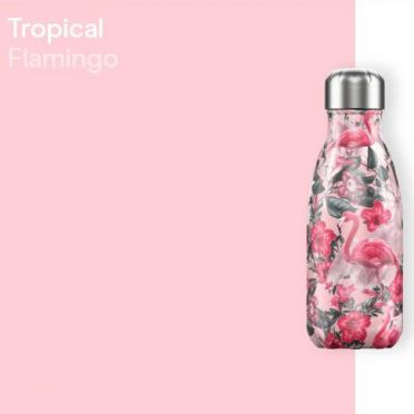 Chilly Bottle - Tropical Flamingo 260ml