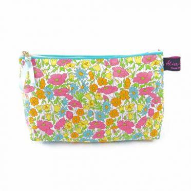 Floral Liberty Print Cosmetic Bag