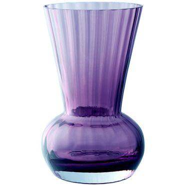 Dartington Amethyst Funnel Vase