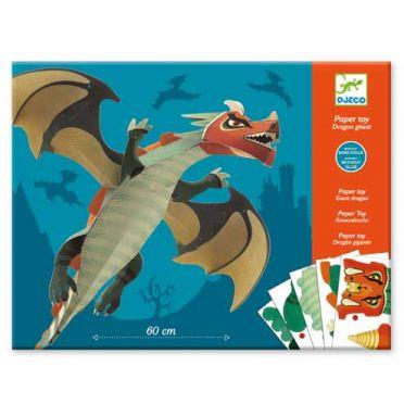 Giant Dragon Origami Craft Kit