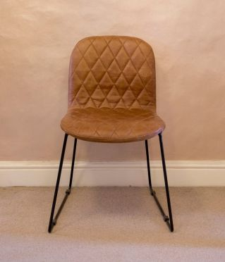 Clifton Faux Leather Chair