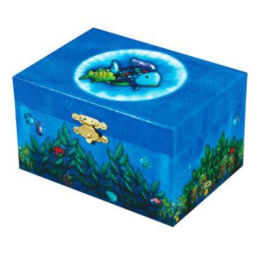 Rainbow Fish Musical Jewellery Box