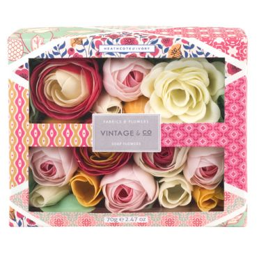Pretty Pink Soap Roses