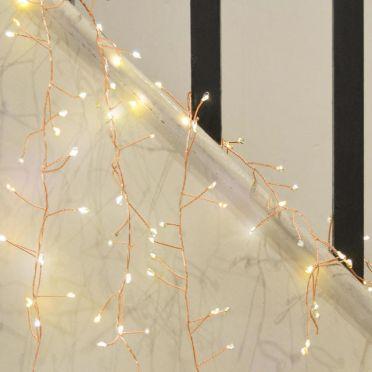 Cluster Lights Copper 15m