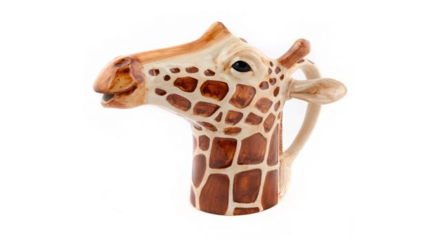 Quail Giraffe Jug