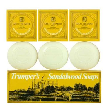 Geo. F. Trumpers Sandalwood Hand Soap