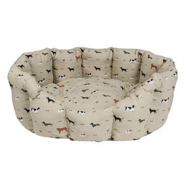 Sophie Allport Large Woof Dog Bed