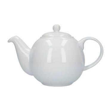 White Teapot - 6 cup