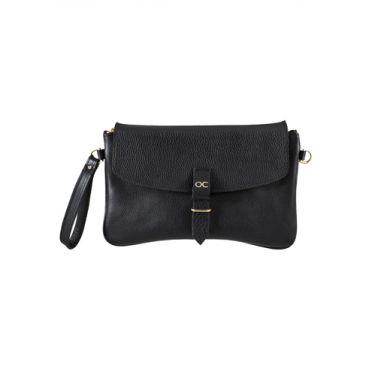 Olive Cooper Clutch Bag Black