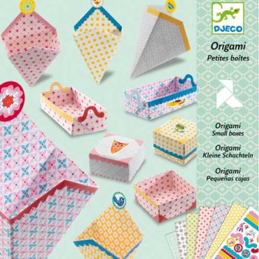 Origami Boxes Craft Kit