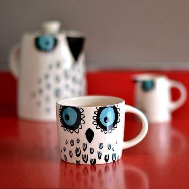 Hannah Turner Owl Mug
