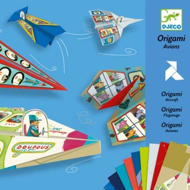 Origami Paper Planes Craft Kit