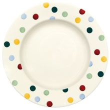 "Emma Bridgewater Polka Dot 10.5"" Plate"