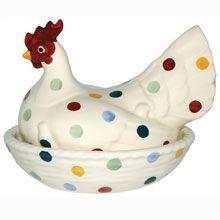 Emma Bridgewater Polka Dot Large Hen