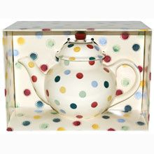 Emma Bridgewater Polka Dot 4 Cup Teapot Boxed