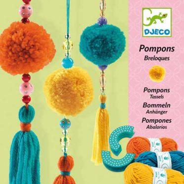 Pom Pom and Bead Craft Kit