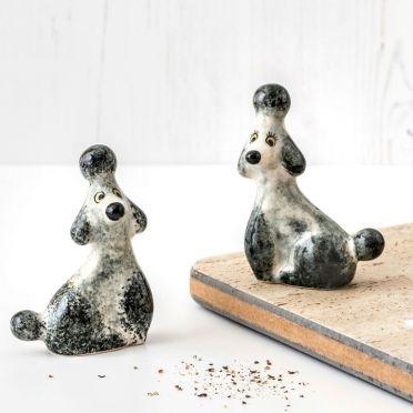 Hannah Turner Salt and Pepper Poodle Grey