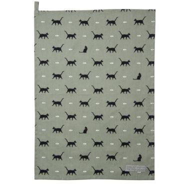 Sophie Allport Tea Towel - Cat