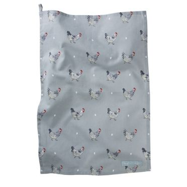 Sophie Allport Tea Towel - Chickens