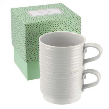 Sophie Conran set of 2 stackable mugs