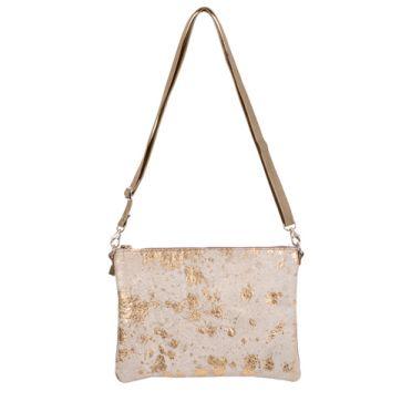 Thurston Handbag in Gold Acido