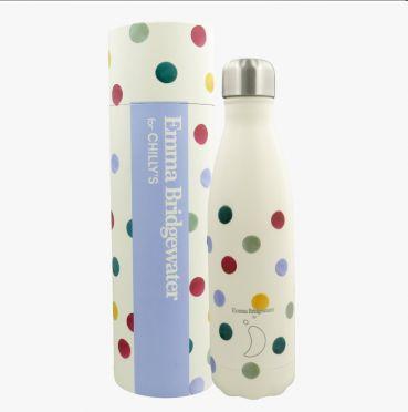 Chilly Emma Bridgewater Bottle - Spots