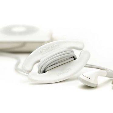 Cord Wrap - White