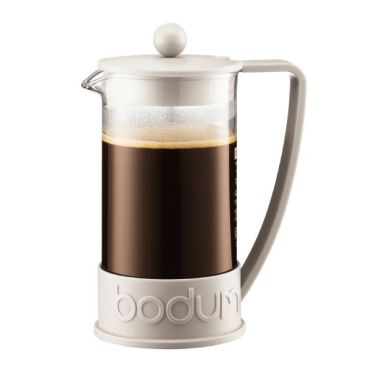 Brazil Coffee Presser - 8 Cups White