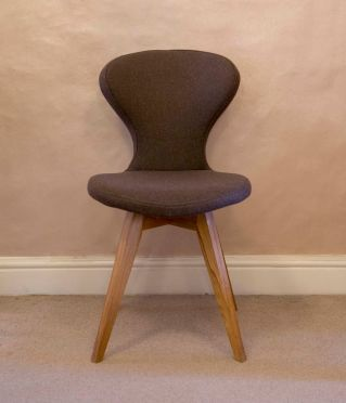 Wool Spoon Chair