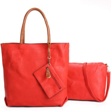 3 in 1 Red Tote Bag