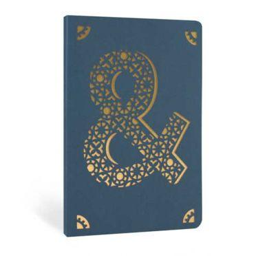 Monogram Gold Foil Notebook - &