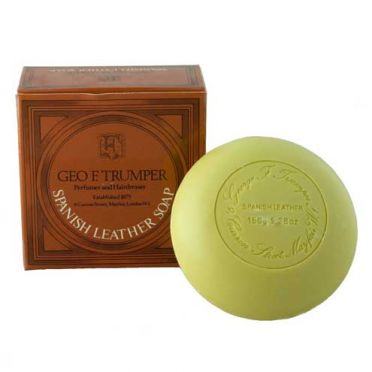 Geo. F. Trumpers Spanish Leather Bath Soap