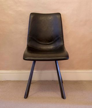 Alf Faux Leather Chair