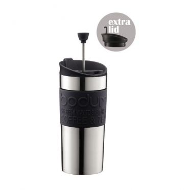 Travel Press Coffee Cup - Black