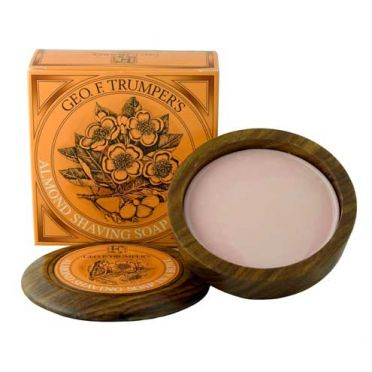 Geo. F. Trumpers Almond Shaving Soap in a Bowl