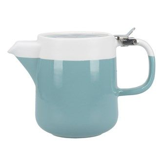 La Cafetiere Barcelona Teapot 420ml - Retro Blue
