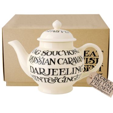 Emma Bridgewater Black Toast All Over Teapot