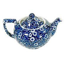 Burleigh Calico Small Teapot in Blue