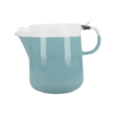 La Cafetiere Barcelona Teapot 1200ml - Retro Blue